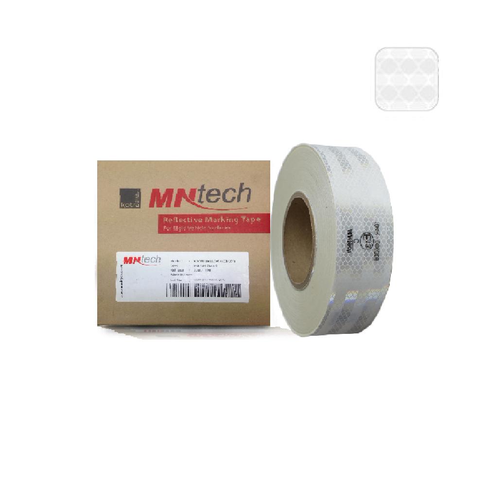 STK-026 สติ๊กเกอร์สะท้อนแสง MNT RV-5000 E13 (สีขาว)
