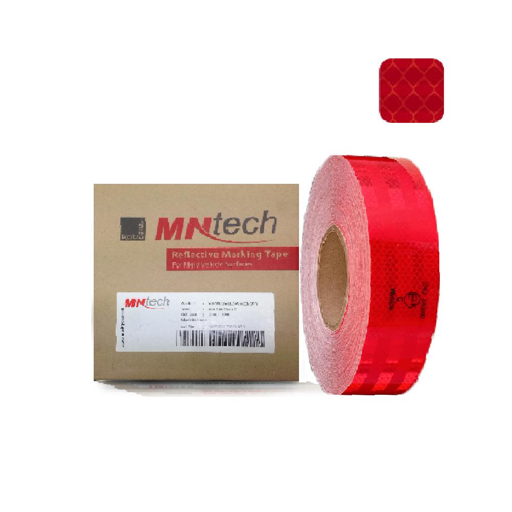 STK-025 สติ๊กเกอร์สะท้อนแสง MNT RV-5005 E13 (สีแดง)