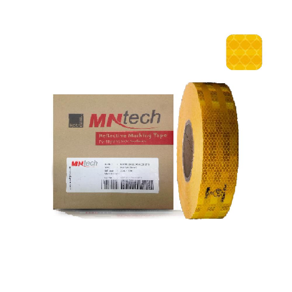 STK-024 สติ๊กเกอร์สะท้อนแสง MNT RV-5001 E13 (สีเหลือง)