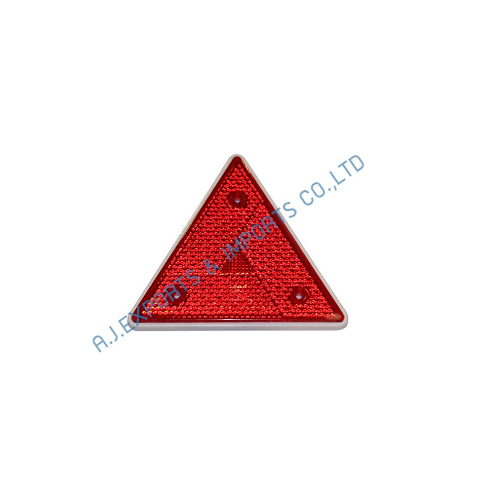 LIT-011-6 แผ่นทับทิม  สามเหลี่ยม (สีเเดง)